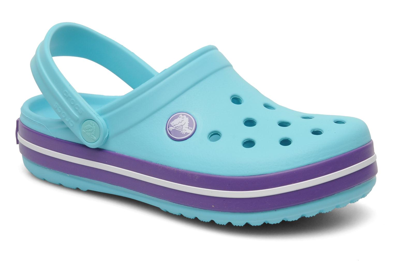Sandales et nu-pieds Crocs CrocbandKids Bleu vue détail/paire