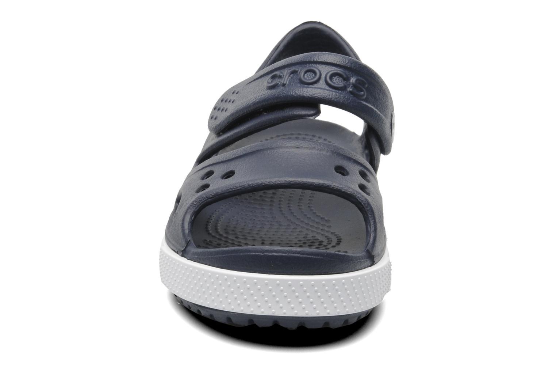 Sandali e scarpe aperte Crocs CrocbandIISandalPS Azzurro modello indossato