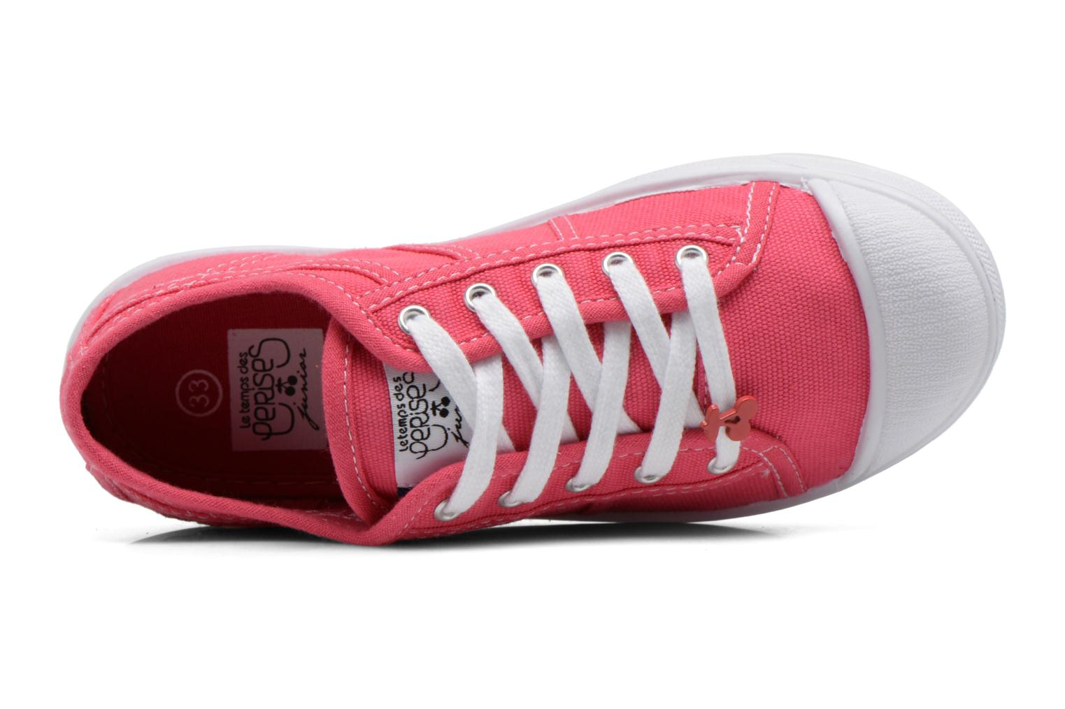 Sneakers Le temps des cerises Lc Basic 02 Rosa immagine sinistra