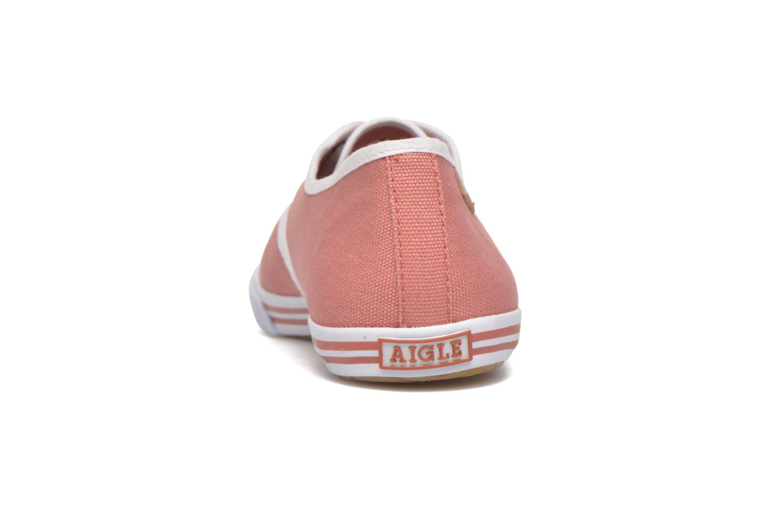 Trainers Aigle Lauriel Pink view from the right