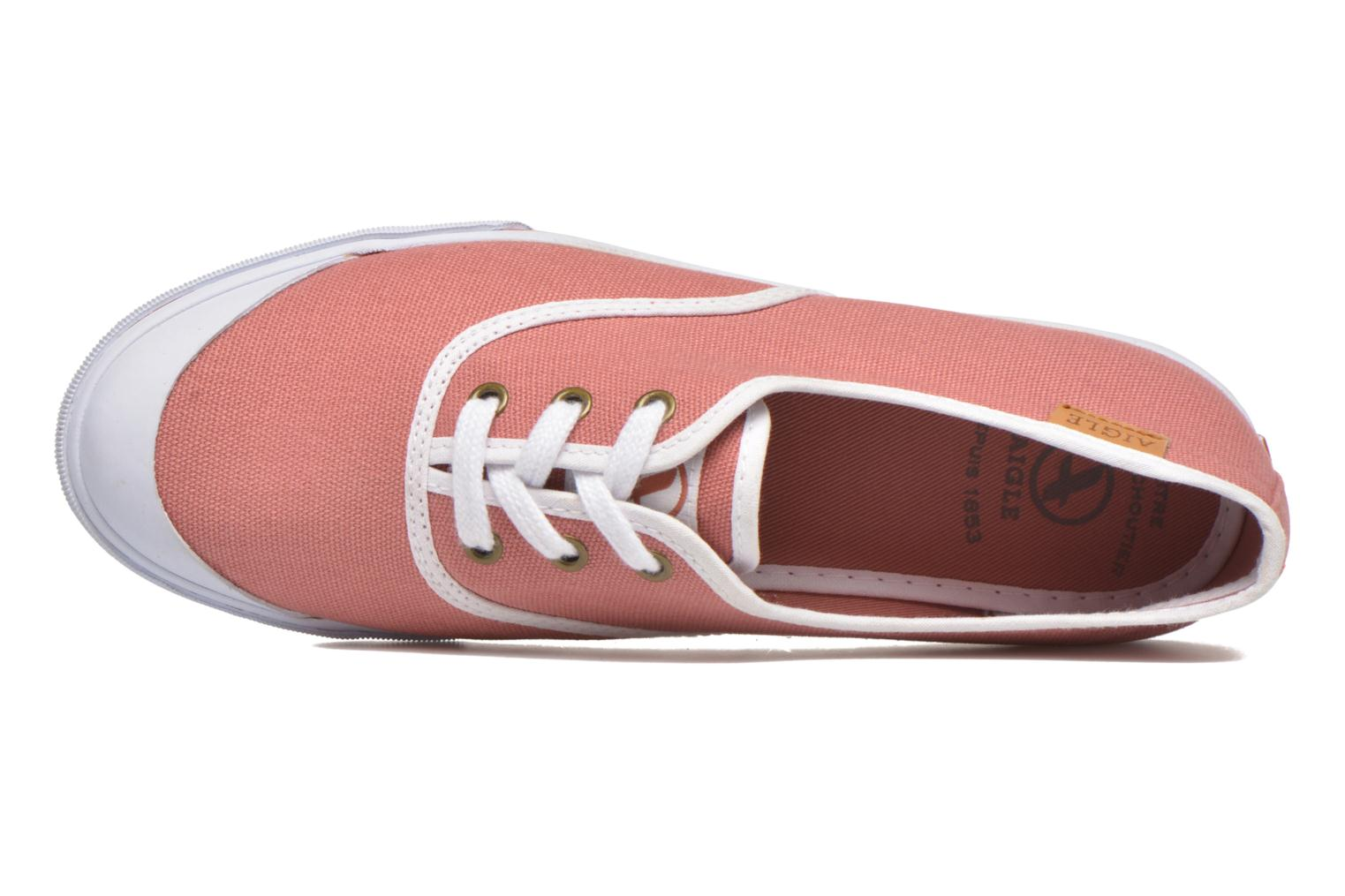 Trainers Aigle Lauriel Pink view from the left