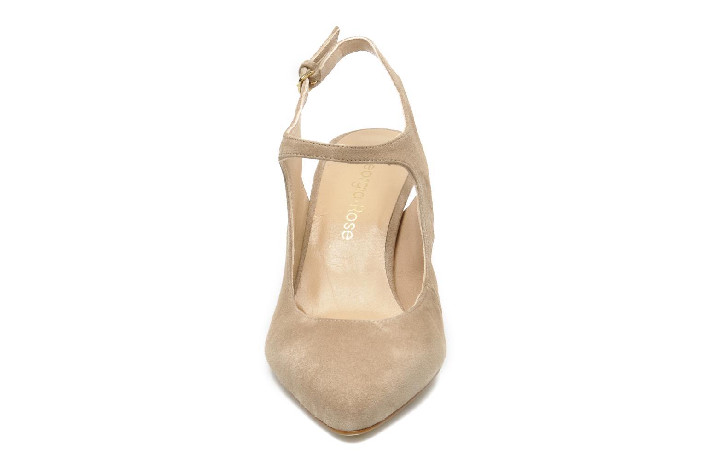 Escarpins Georgia Rose Amalsa Beige vue portées chaussures