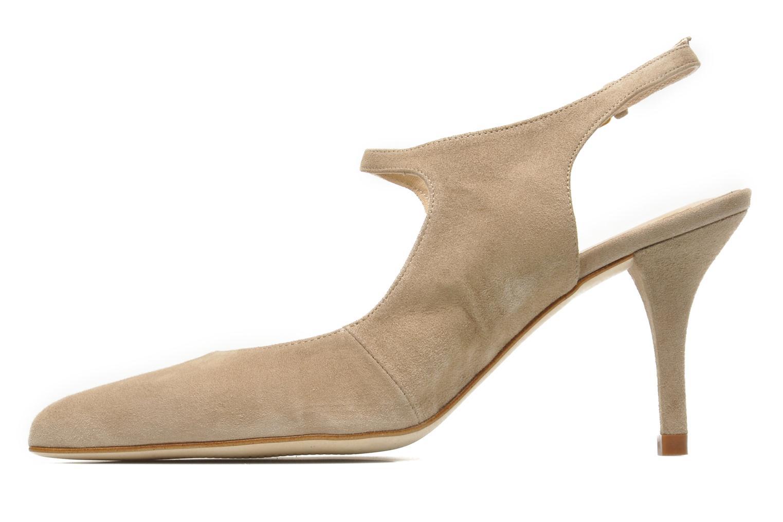High heels Georgia Rose Amalsa Beige front view
