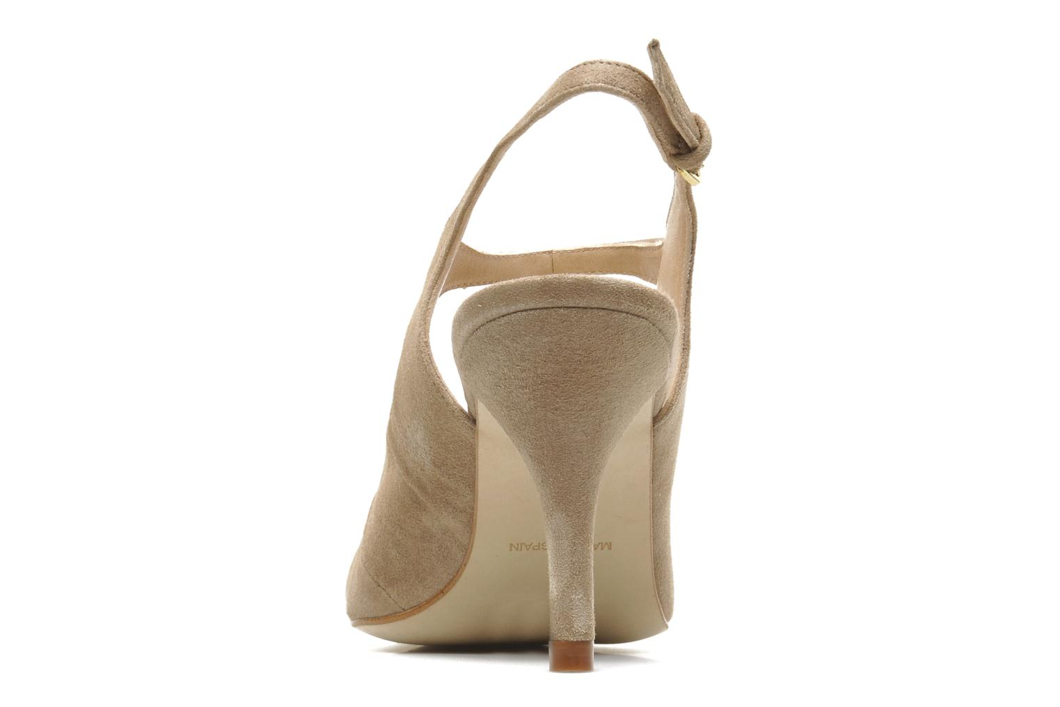 High heels Georgia Rose Amalsa Beige view from the right