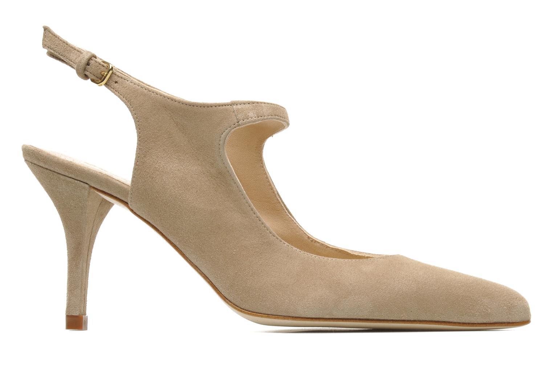 High heels Georgia Rose Amalsa Beige back view