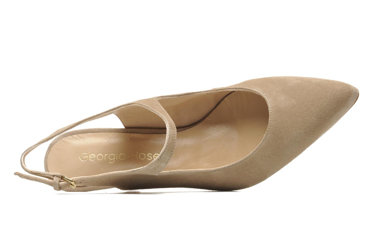 High heels Georgia Rose Amalsa Beige view from the left