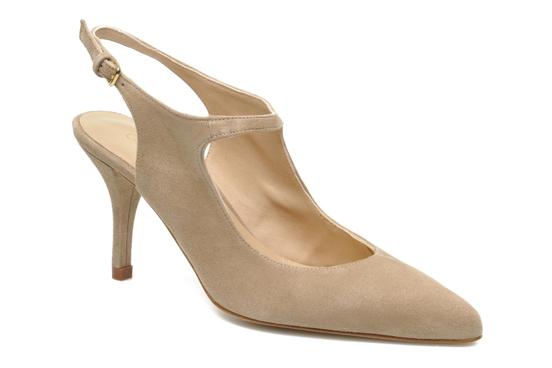 High heels Georgia Rose Amalsa Beige detailed view/ Pair view