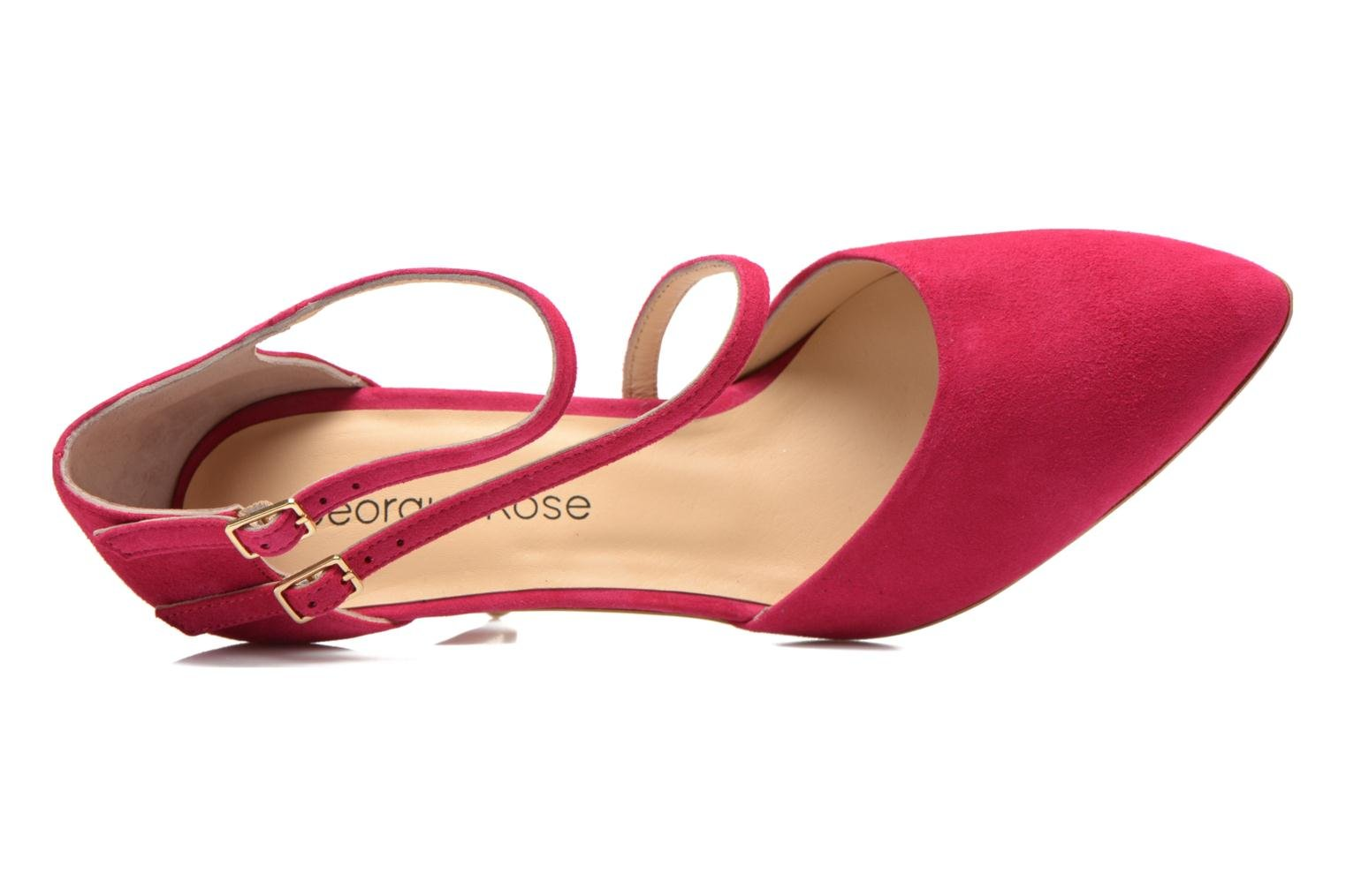 Pumps Georgia Rose Lala rosa ansicht von links