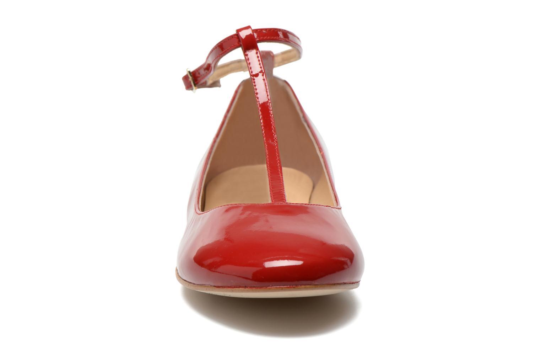 Ballerine Georgia Rose Lamirna Rosso modello indossato