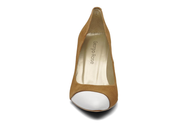 Escarpins Georgia Rose Labely Beige vue portées chaussures