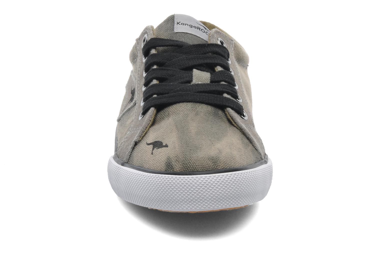 Baskets Kangaroos KangaVulcT 2039 Gris vue portées chaussures