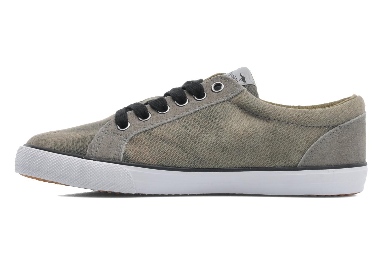Sneaker Kangaroos KangaVulcT 2039 grau ansicht von vorne