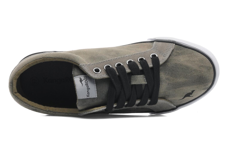 Sneaker Kangaroos KangaVulcT 2039 grau ansicht von links