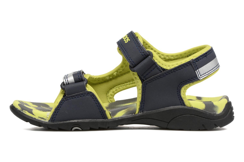 Sandales et nu-pieds Kangaroos Sinclair 2 Bleu vue face