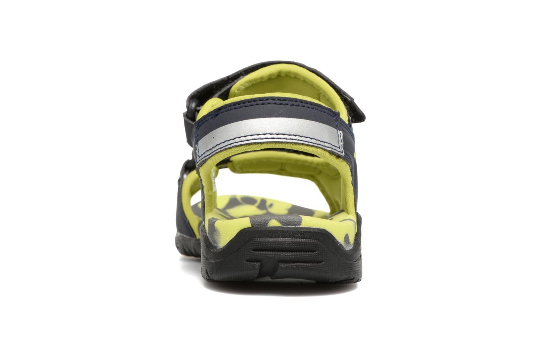 Sandales et nu-pieds Kangaroos Sinclair 2 Bleu vue droite