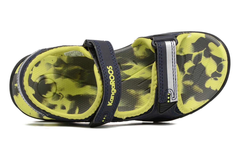 Sandales et nu-pieds Kangaroos Sinclair 2 Bleu vue gauche