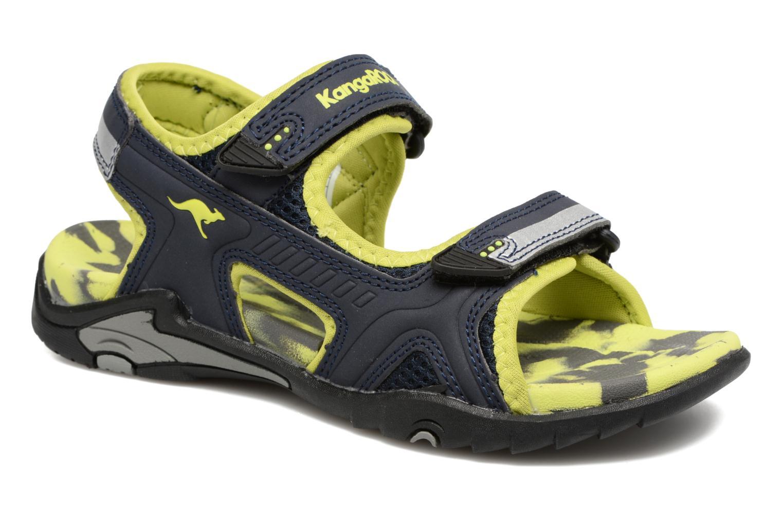 Sandales et nu-pieds Kangaroos Sinclair 2 Bleu vue détail/paire