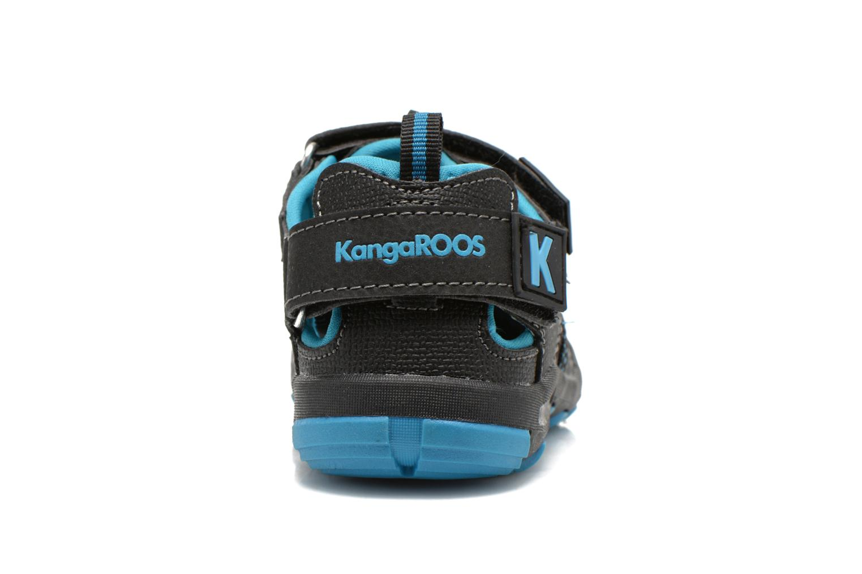 Sandalen Kangaroos KangaSpeed 2068 schwarz ansicht von rechts