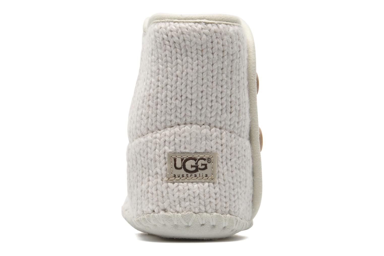 Bottines et boots UGG I Purl Blanc vue droite