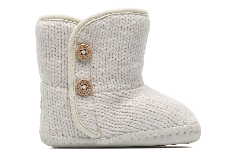 Bottines et boots UGG I Purl Blanc vue derrière