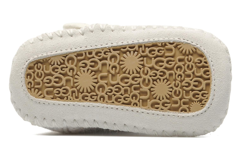 Bottines et boots UGG I Purl Blanc vue haut