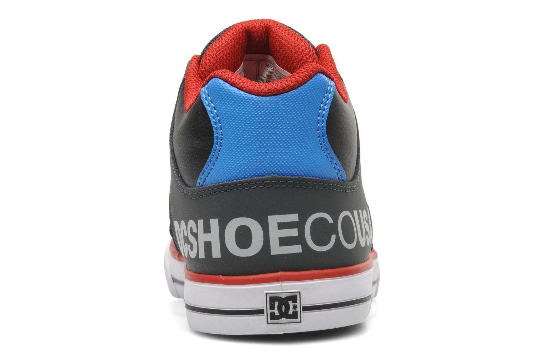 Baskets DC Shoes RADAR Gris vue droite