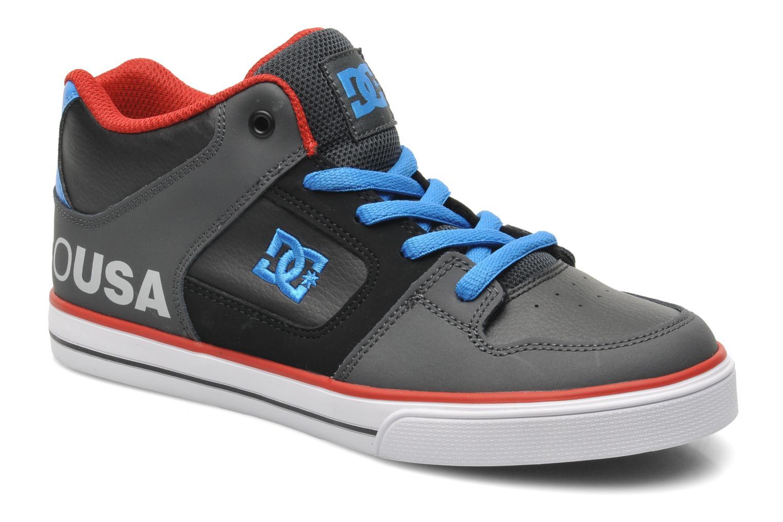 Baskets DC Shoes RADAR Gris vue détail/paire