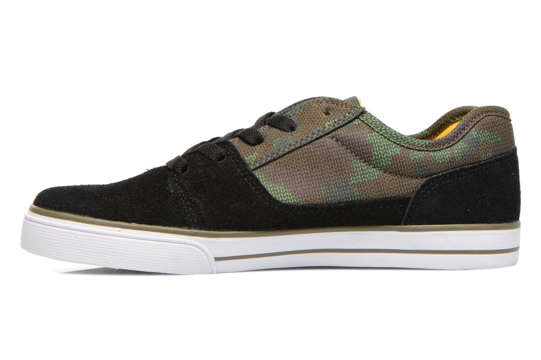 Sneaker DC Shoes TONIK SE schwarz ansicht von vorne