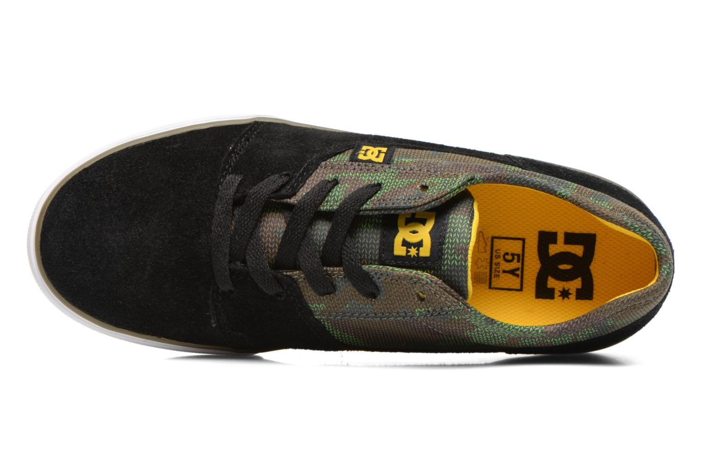 Sneaker DC Shoes TONIK SE schwarz ansicht von links