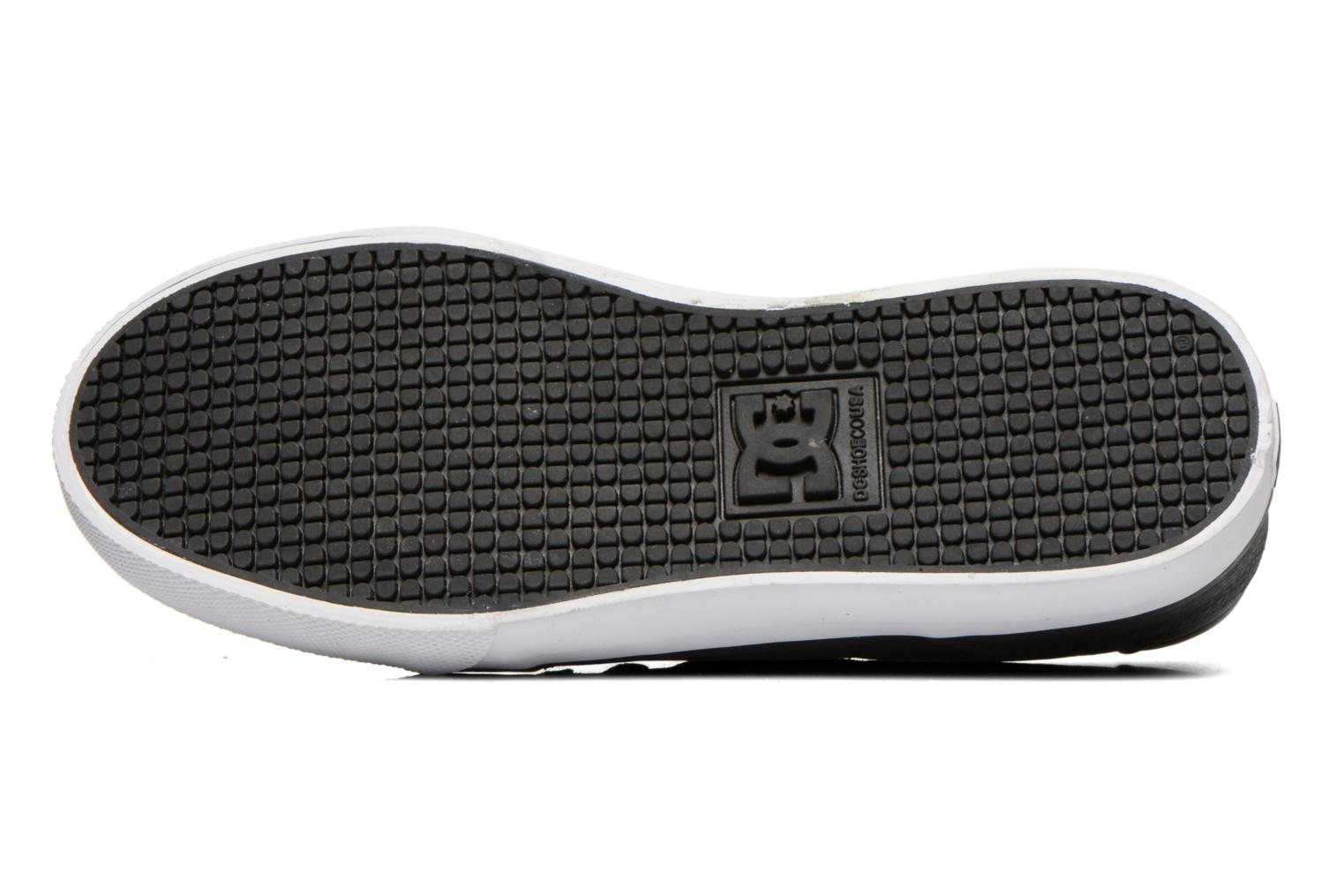 Baskets DC Shoes COUNCIL B Gris vue haut
