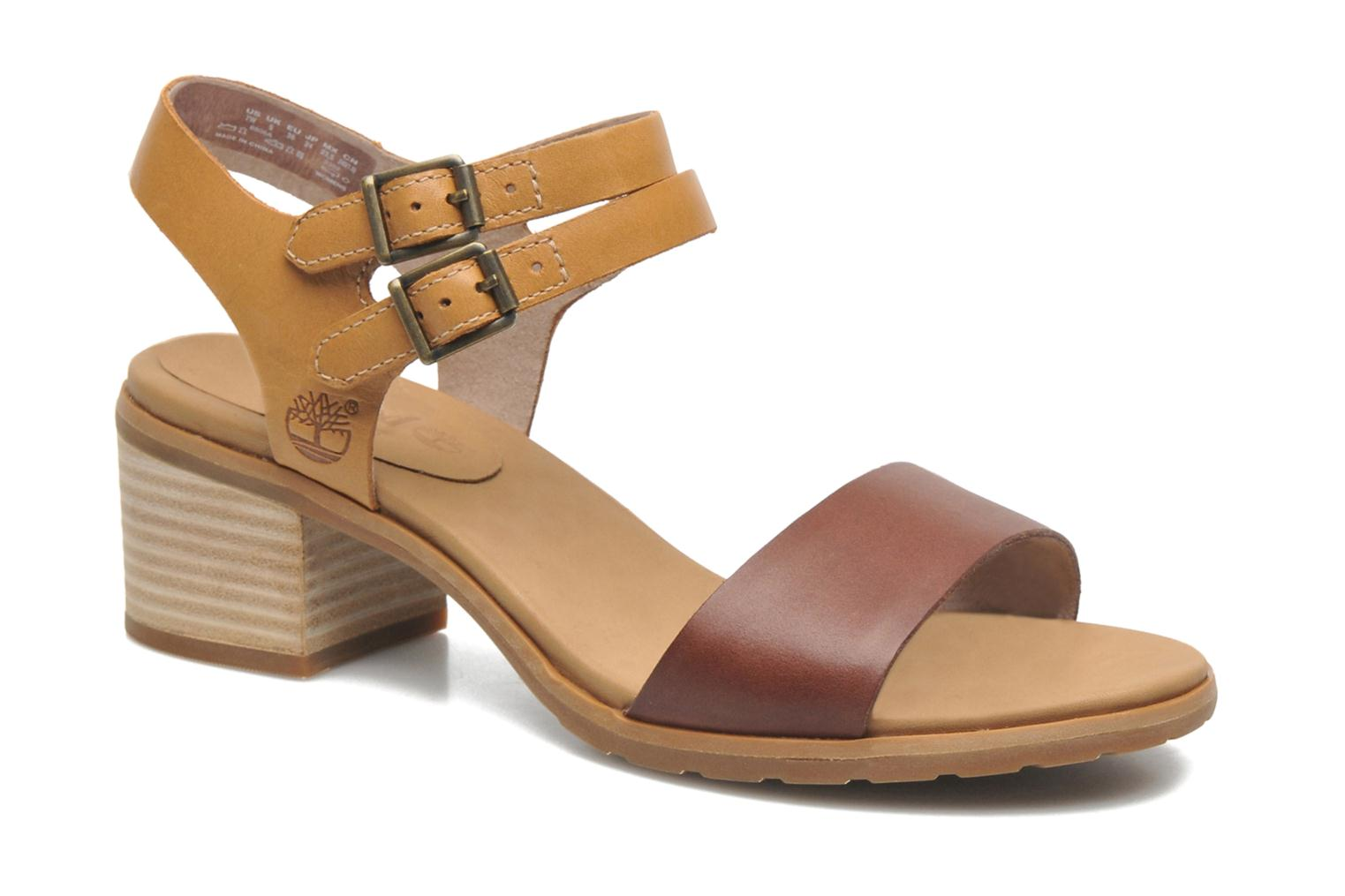 Sandalen Timberland Earthkeepers Barnstead Sandal Double Buckle Bruin detail