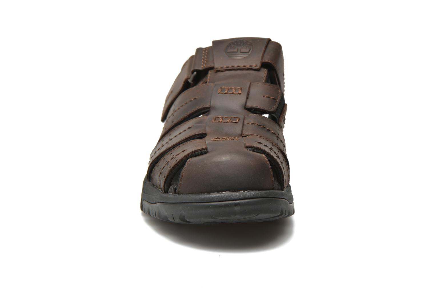 Sandales et nu-pieds Timberland Earthkeepers Crawley Fisherman Marron vue portées chaussures