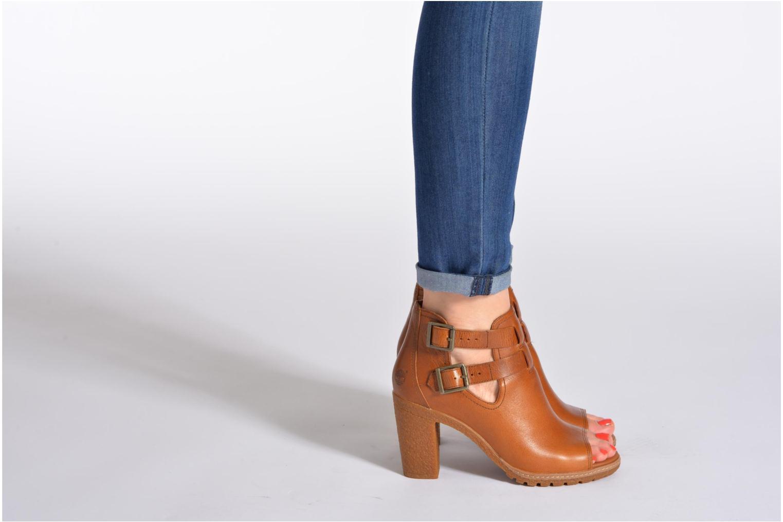 Stiefeletten & Boots Timberland Earthkeepers Glancy Peep Toe blau ansicht von unten / tasche getragen