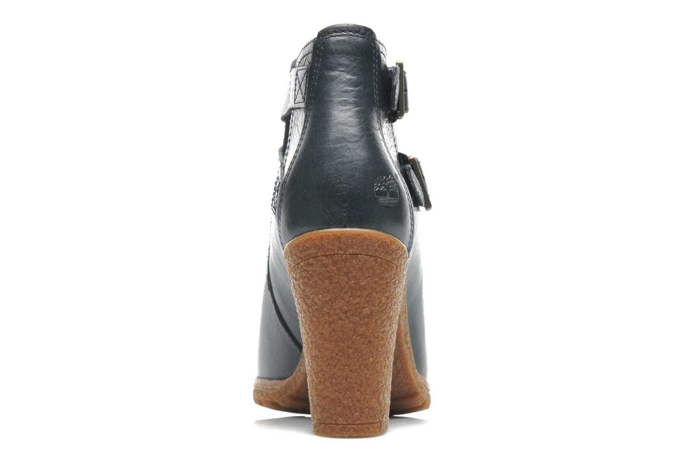 Bottines et boots Timberland Earthkeepers Glancy Peep Toe Bleu vue droite