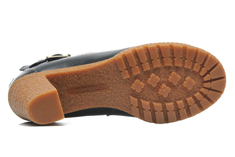 Bottines et boots Timberland Earthkeepers Glancy Peep Toe Bleu vue haut