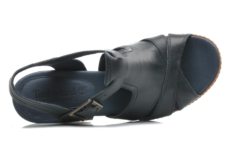 Sandales et nu-pieds Timberland Earthkeepers Strafford Backstrap Bleu vue gauche