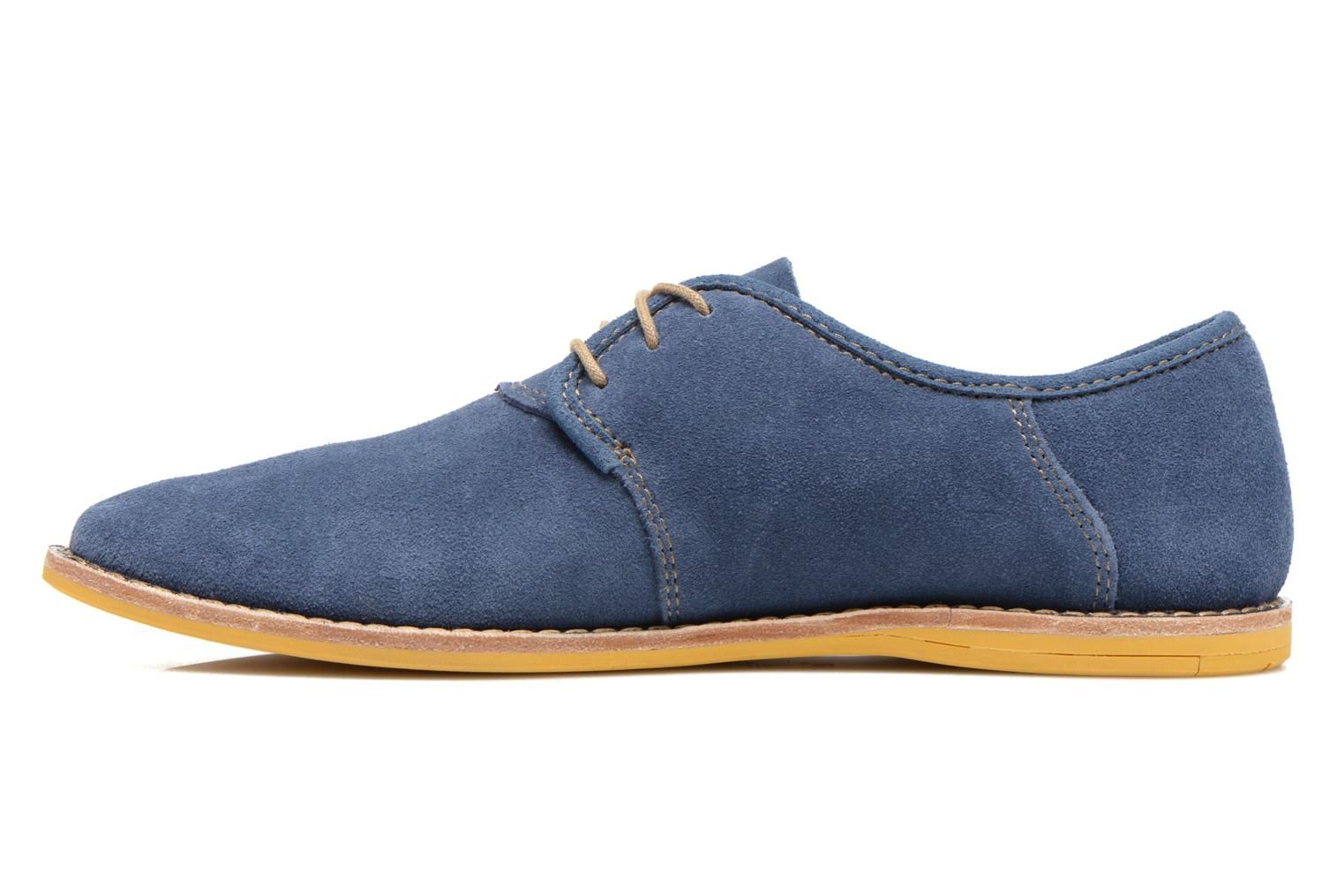 Chaussures à lacets Timberland Earthkeepers Revenia Suede Oxford Bleu vue face