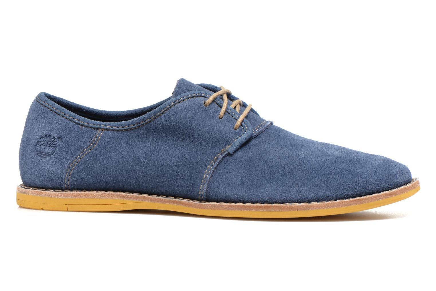 Chaussures à lacets Timberland Earthkeepers Revenia Suede Oxford Bleu vue derrière