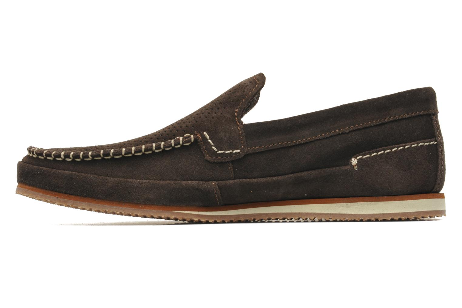 Mocassins Timberland Hayes Valley Loafer Marron vue face