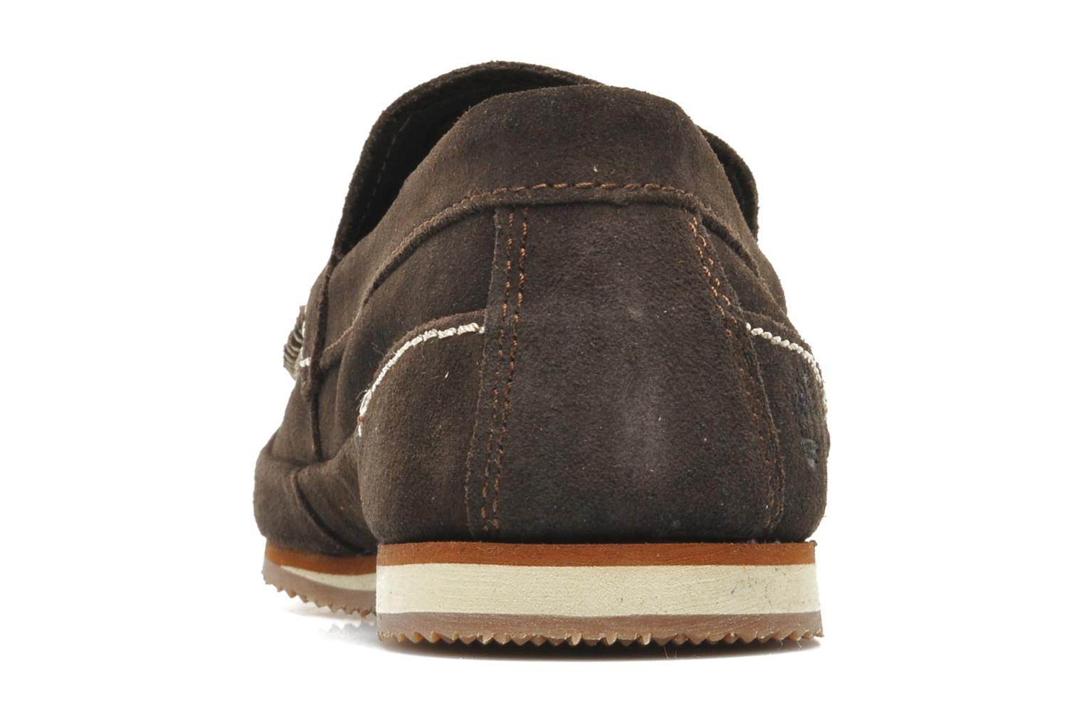 Hayes Valley Loafer Dark Brown Suede