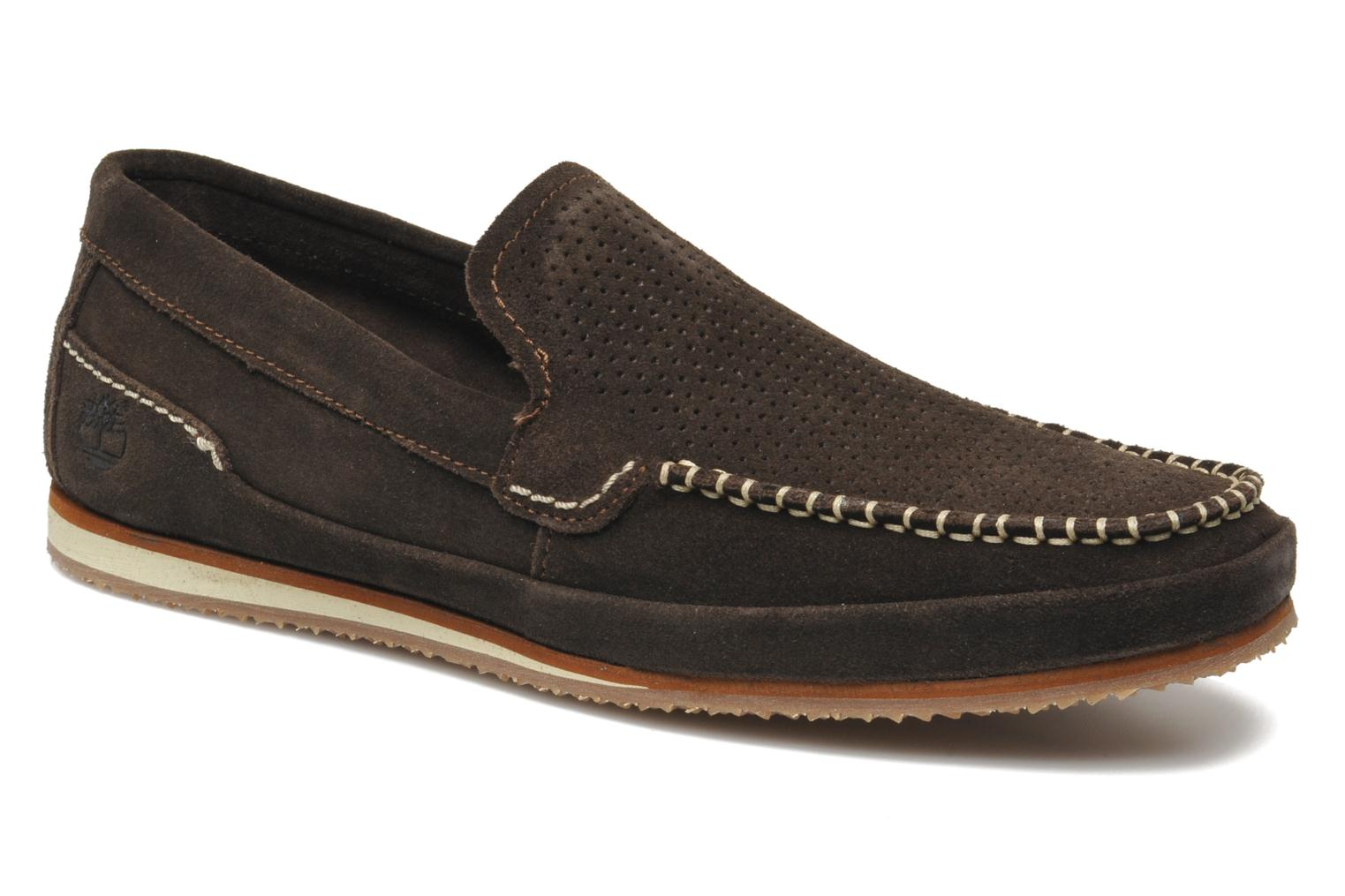 Mocassins Timberland Hayes Valley Loafer Marron vue détail/paire