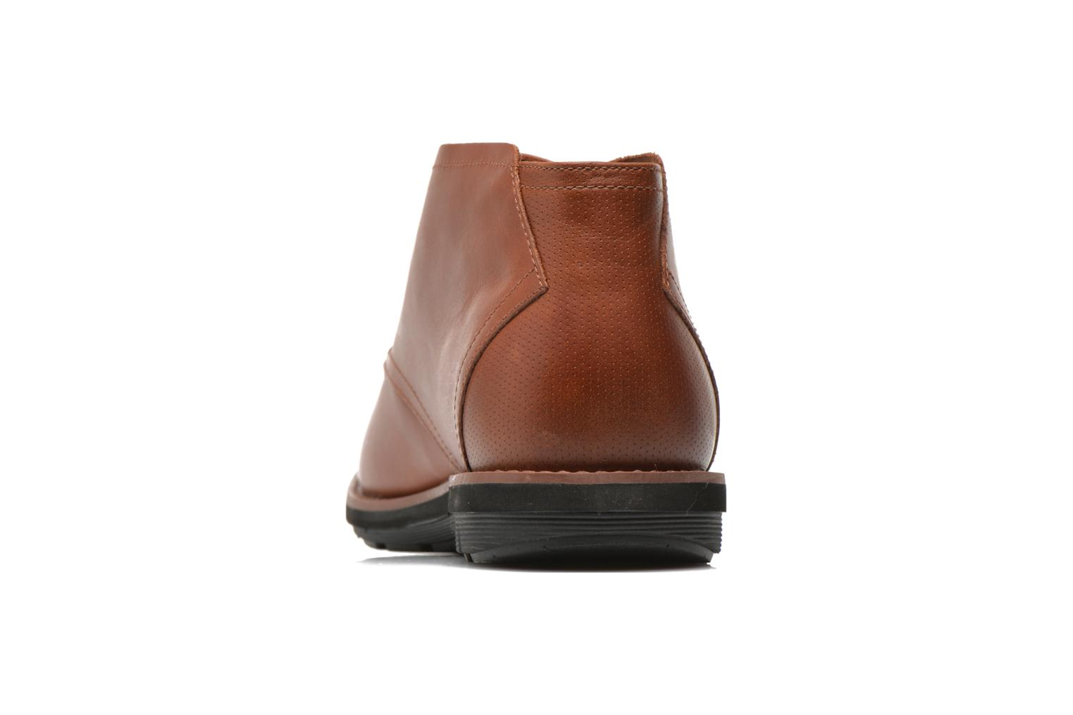 Chaussures à lacets Timberland Earthkeepers Kempton Chukka Marron vue droite