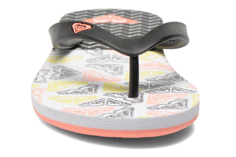 Tongs Roxy Rg Tahiti V Noir vue portées chaussures