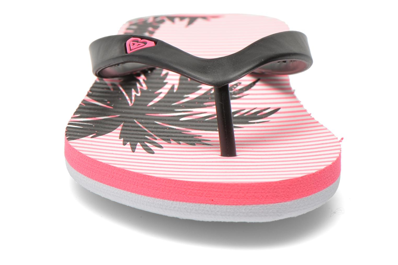 Zehensandalen Roxy Rg Tahiti V rosa schuhe getragen