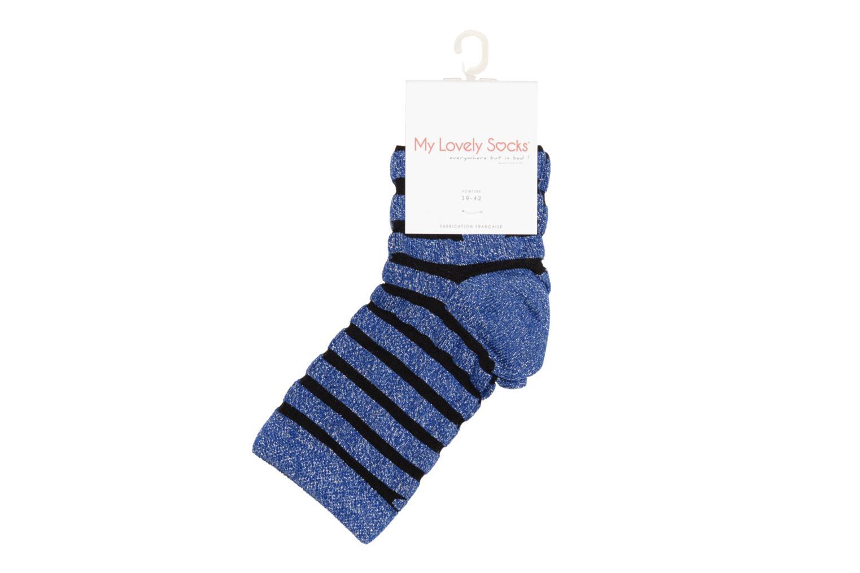 Chaussettes et collants My Lovely Socks Chaussettes Mixte Faustine Bleu vue droite