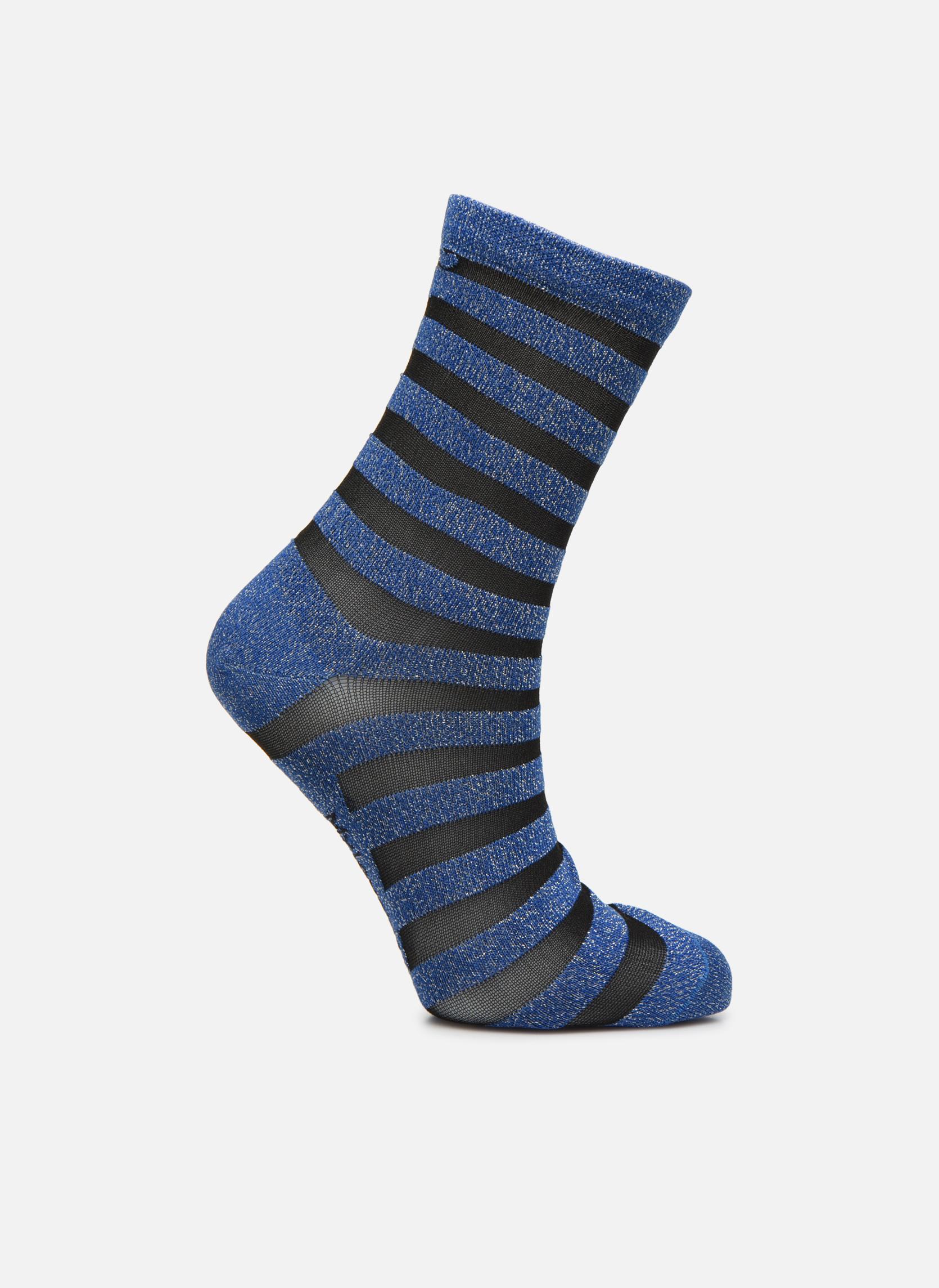 Chaussettes et collants My Lovely Socks Chaussettes Mixte Faustine Bleu vue détail/paire