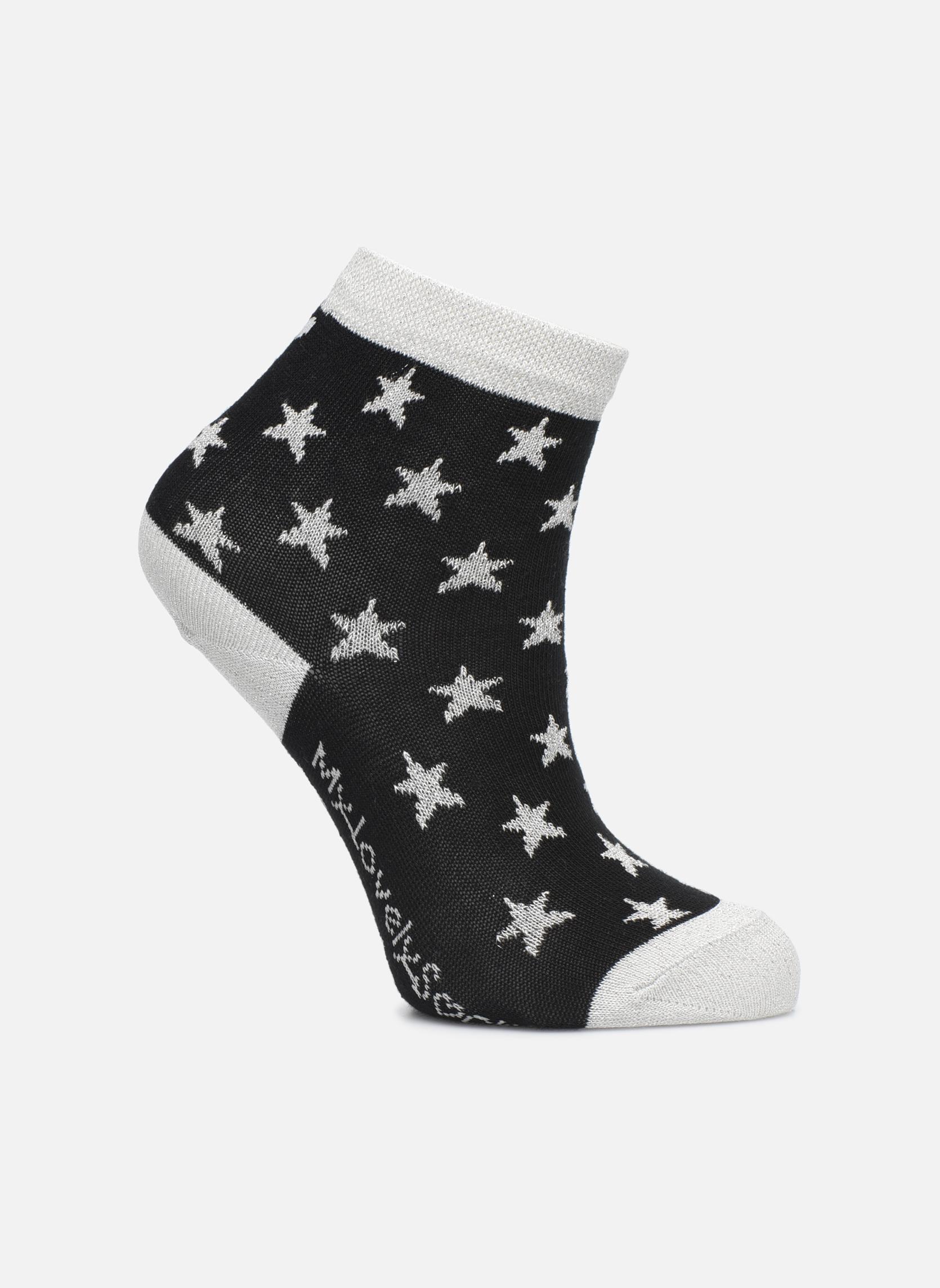 Stars noir et gris argenté
