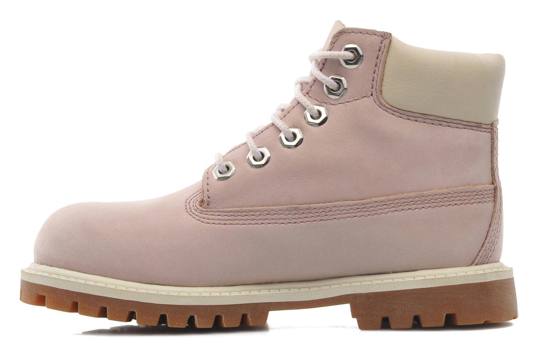 Boots en enkellaarsjes Timberland 6IN PREM WP BT Roze voorkant