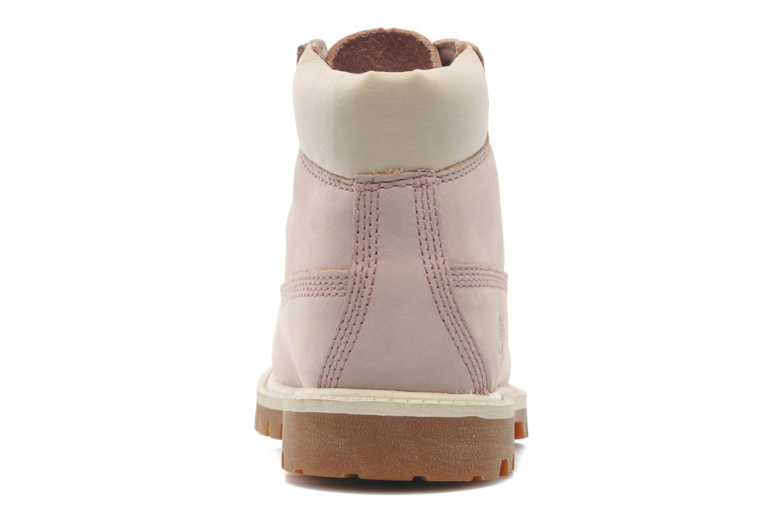 Boots en enkellaarsjes Timberland 6IN PREM WP BT Roze rechts