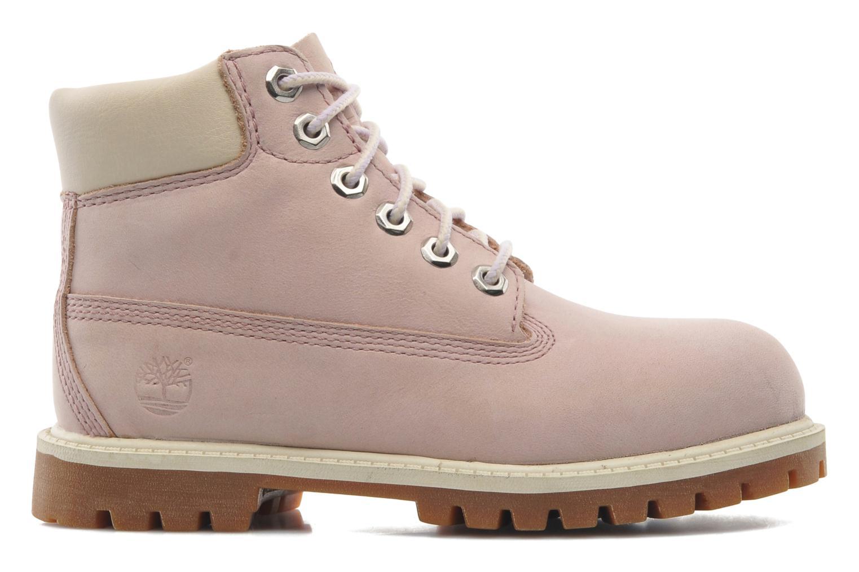 Boots en enkellaarsjes Timberland 6IN PREM WP BT Roze achterkant